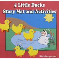 Preschool Five Little Ducks Went Out To Play Activity
