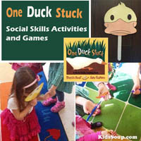 Duck Stuck Social Skills Activities for Preschool