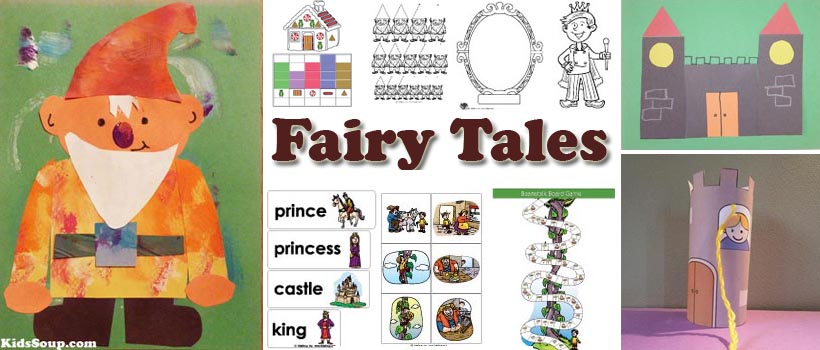 Fairy Tales activities, crafts, and lesson plans for preschool and kindergarten