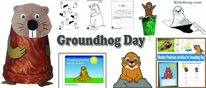 Groundhog Day Activities, Crafts, and Printables for Preschool