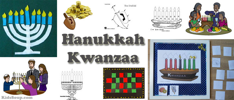Hanukkah and Kwanzaa Activities for Preschool and Kindergarten