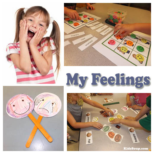 Family Emotions Preschool And Kindergarten Activities