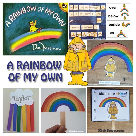 preschool rainbow activities, lessons, and crafts