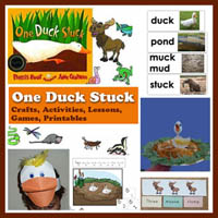 Preschool One Duck Story Story Time Activities and Crafts