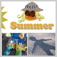 Preschool Kindergarten Summer Activities and Crafts