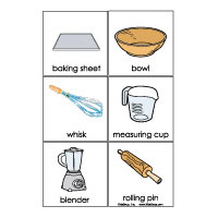 baking tools preschool and kindergarten activity and printables