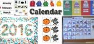 Calendar Activities and Printables for Preschool and Kindergarten