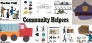 Community Helpers Activities and Games for Preschool