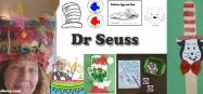 Dr. Seuss activities, crafts, games for preschool and kindergarten