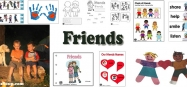 Friends Activities Crafts and Lessons for preschool and kindergarten