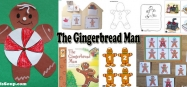 The Gingerbread Man Activities and Crafts for Preschool