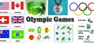 Olympic Games Activities and Crafts for Preschool and Kindergarten